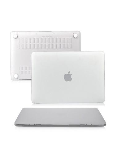 """Mcstorey MacBook Air A1369/A1466 13"""" 13.3"""" Kılıf Kapak Koruyucu Ruberized  Hard Incase Mat Renksiz"""